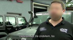 TVN Turbo zdemaskował nieuczciwego sprzedawcę wranglerów #Bulowice #wrangler #przedsiębiorca #TVN #TVNTurbo #TurboKamera