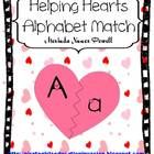 Your students will LOVE this alphabet matching game with a Valentine's Day theme. Your students will help mend the broken hearts by matching up low...
