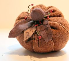 The Cottage Home: Fall Fabric Pumpkin Tutorial