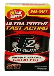 T2 Xtrme Ultra Potent 180  3,3'-Diiodo-L-Thyronine100 mcg*  3,5-Diiodo-L-Thyronine100 mcg