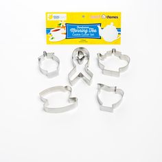 The Sweet Themes Morning Tea Fundraiser Cookie Cutter Pack is available at stockists throughout Australia.  By purchasing one of these packs you ensure a donation is made to the Queensland Cancer Council.  It is perfect for the Biggest Morning Tea Events or any Morning Tea Fundraiser Event.  See the store locator on our website.