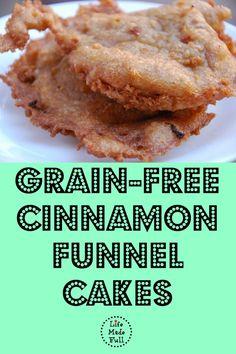 Grain-Free Funnel Cakes
