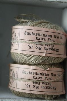 Sewing Factory Twine
