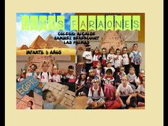 2015 EGIPTO Somos Faraones Infantil 5 años ALCALDE Ramírez Las Palmas - YouTube