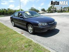 This Chevy Impala is very reliable and a great first car. The vehicle runs and drives very smooth and is comfortable. The vehicle is a great deal and perfect for everyday use! ALL PRICES ARE CASH PRICES UNLESS STATED AND DO NOT REFLECT FINANCING* WE ARE THE BANK * NO CREDIT CHECK * WE ACCEPT ALL TRADES * YOU ARE APPROVED SO CALL NOW TO SCHEDULE YOUR TEST DRIVE OR TO GET MORE INFORMATION ON THIS VEHICLE.* ALL PRICES EXCLUDE TAXES,TAG AND DEALER FEES. *LOCATED IN MELBOURNE, FL * 5 MINUTES…