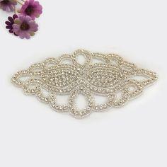 Diamond Applique for Bridal Sash,Toss Garter