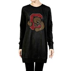 Newbee Cornell University Big Red Womens Long Sleeve Raglan Crewneck Tunic Sweatshirt Solid Top TShirts L *** Learn more by visiting the image link.(This is an Amazon affiliate link and I receive a commission for the sales)