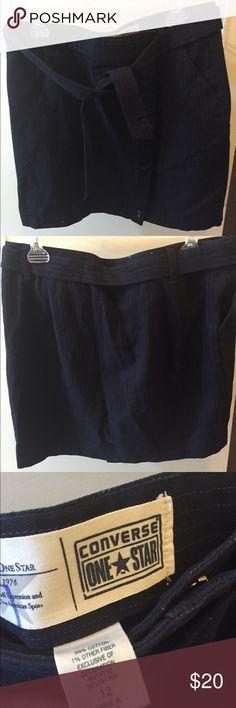 Converse All Star skirt Converse All Star navy blue skirt. Size 10. Converse Skirts Midi