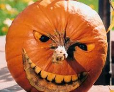 Cool Pumpkin Carving Ideas omg. i think i recognise this face ha ha ha ,love it love it ha ha ha