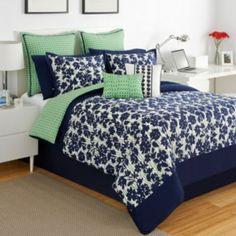 IZOD+Augusta+Reversible+Comforter+Set+
