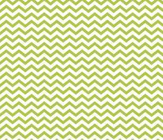 Chevron Lime Green fabric by misstiina on Spoonflower - custom fabric