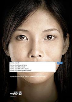 UN Women - Awareness Campaign.