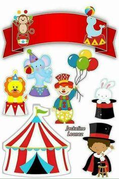 Birthday box card pop up 54 Ideas Carnival Themed Party, Carnival Themes, Circus Party, Circus Birthday, Birthday Box, Birthday Party Themes, Party Printables, Free Printables, Decoration Cirque