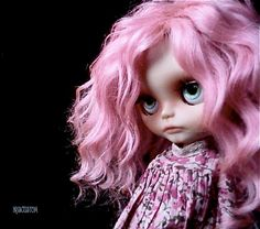 Réserved listing for B Ooak Custom Blythe Art Doll by aline8