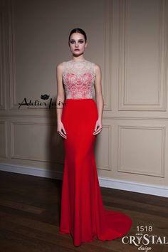 Evening dress Sintia by Atelier Ivoire www.atelierivoire.bg