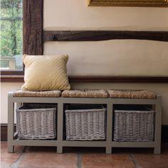 Country Living / JEM Marketing / Three Seater Storage Bench