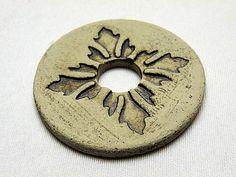 Keramik - Scheibe für Gartenstele Ebay