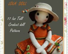 Finished Doll 16 Inches tall Crochet doll. by chepidolls on Etsy