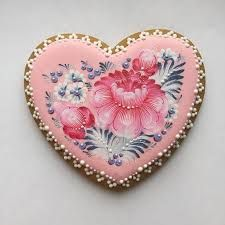 Image result for gingerbread heart cookies
