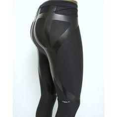 Adidas Men's TechFit Powerweb Long Tight Pants in Black, Rayworld Sporting Supplies