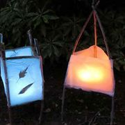 Winter solstice has been celebrated all over the world for thousands of years. It occurs on the shortest day and longest night. Although this is often the first day of winter, it also promises the return of the sun after an extended period of darkness. By using yard clippings and a few simple tools, you can create a nature inspired lantern to glow...