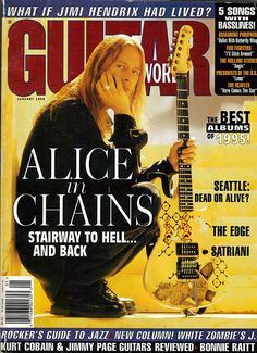 Jerry Cantrell on Guitar, January 1996