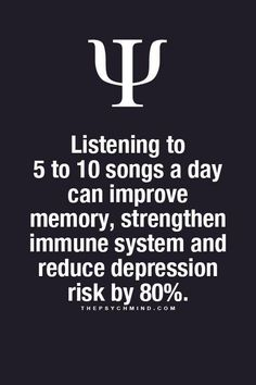 thepsychmind: Fun Psychology facts here! - thepsychmind: Fun Psychology facts here! thepsychmind: Fun Psychology facts here! Psychology Says, Psychology Quotes, Psychology Fun Facts, The Words, Music Quotes, Me Quotes, Music Therapy, Self Help, Mindfulness