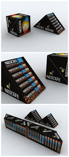 3in1 Stick package design for Nescafé  via http://www.packagingserved.com/gallery/3in1-Stick-package-design-for-Nescaf/1793062