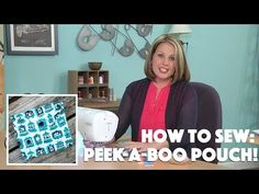 Show Off Saturday: A Free Video Tutorial for the Peek-a-Boo Pouch Pattern! Sewing Patterns Free, Free Sewing, Sewing Tutorials, Sewing Crafts, Sewing Projects, Diy Crafts, Diy Projects, Decor Crafts, Sewing Kits