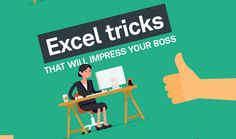 If you want to wow colleagues and management with some slick Excel moves, Best STL have put together some handy excel tricks that really will impress your boss. Check it out. Business Entrepreneur, Computer Tips, Computer Help, Computer Programming, Microsoft Excel, Microsoft Office, Busy At Work, Keyboard Shortcuts, Your Boss