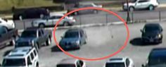 Spooky! Did Ghosts Vandalise The Cop Cars In This Haunted Parking Lot? Hit the pic to see the #wtf video...