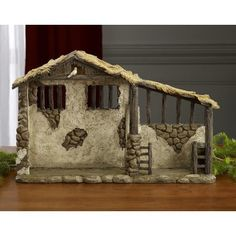Three Kings Gifts Christmas Nativity Lighted Stable Manger for 10 inch Scale Set *** Click image for more details. (This is an affiliate link) Nativity Creche, Nativity Stable, Outdoor Nativity, Christmas Nativity Scene, A Christmas Story, First Christmas, Christmas Crafts, Christmas Decorations, Nativity Sets