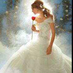Belle Disney princess wedding dress!!!! I want it so bad!