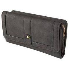 Women's Solid Snap Closure Wallet