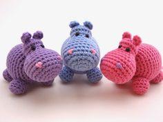 Mesmerizing Crochet an Amigurumi Rabbit Ideas. Lovely Crochet an Amigurumi Rabbit Ideas. Crochet Hippo, Crochet Diy, Crochet Patterns Amigurumi, Love Crochet, Amigurumi Doll, Crochet Animals, Crochet Crafts, Crochet Dolls, Yarn Crafts