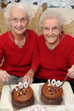 Irmãs gêmeas fazem 100 anos e revelam o segredo da longevidade