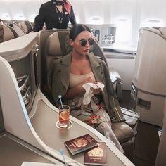 No photo description available. dream life в 2019 г. Estilo Jenner, First Class Flights, Luxury Lifestyle Fashion, Luxe Life, Fab Life, Millionaire Lifestyle, Rich Girl, Summer Looks, Travel Style