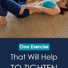 A single exercise that will help to tighten the stomach1