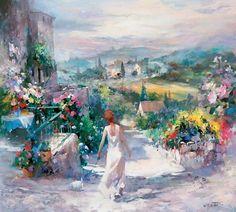 Hollandaise Impressionist painter (1940)