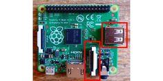 Für ein Überwachungssystem mit Motion ist der im Bild gezeigte Raspberry Pi A+ schnell genug. Der Zero W und der A+ sind die besten Kompromisslösungen, da trotz geringer Größe Kameraschnittstelle und USB-Port beziehungsweise WLAN und Bluetooth vorhanden sind.