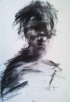 """Expressionism portraits"" on Behance"