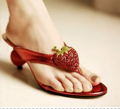Strawberry Sandals