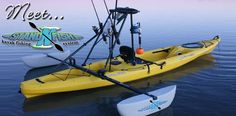 Rigging: After market pontoons add stability and can turn any kayak into a stand and fish kayak.Kayak Rigging: After market pontoons add stability and can turn any kayak into a stand and fish kayak. Hobie Fishing Kayak, Kayak Camping, Canoe And Kayak, Canoe Boat, Camping List, Kayak Boats, Fishing Boats, Fly Fishing, Fishing Tips