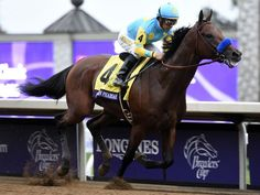 THEY DID IT!!!!!! AGAIN!!!!!  Pharoah and Victor win the Breeders' Cup Classic 2015 by six and 1/2 lengths.  Pharoah will go down in history as one of the greatest ever.
