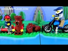 LEGO City Mountain Police JailBreak 2 Lego Police, Lego City, Bowser, Mountain, Fictional Characters, Art, Art Background, Kunst, Performing Arts