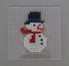 Perler Bead Designs, Hama Beads Design, Motifs Perler, Perler Patterns, Pearler Beads, Fuse Beads, Pony Bead Patterns, Beading Patterns, Diy Christmas Cards