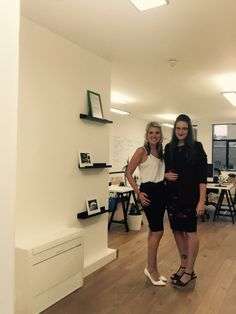Jennie & Fran on their way to the Mobile Choice Awards 2015! #mobile #awards