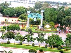 Lumbini Park is a small public, urban park of 7.5 acres adjacent to Hussain Sagar in Hyderabad, India.