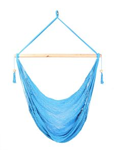 Light Blue Hammock Chair by veronicacolindres on Etsy, $38.00. Now the question is should I get it in brown or blue to match my room?