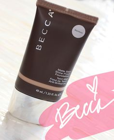 BECCA Ever-Matte Skin Shine Proof Foundation: Oil Better Knot Stand in the Way of This Marriage http://www.makeupandbeautyblog.com/cosmetics/becca-ever-matte-shine-proof-foundation/ #MakeupCafe
